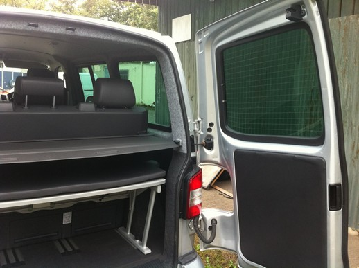 seat and rail vw t5